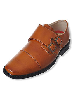 "Joseph Allen Boys' ""Double Buckle"" Dress Shoes (Youth Sizes 13 – 4) - CookiesKids.com"