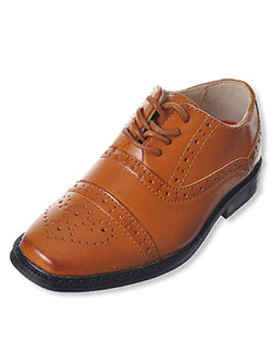 "Joseph Allen Boys' ""Worsted Flourish"" Dress Shoes (Toddler Sizes 5 – 12) - CookiesKids.com"