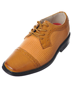 "Joseph Allen Boys' ""Worsted & Woven"" Dress Shoes (Toddler Sizes 5 – 12) - CookiesKids.com"