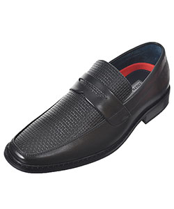 "Joseph Allen Boys' ""Woven Look"" Loafers (Youth Sizes 5 – 8) - CookiesKids.com"