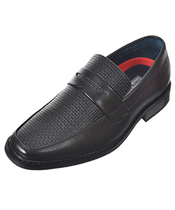 "Joseph Allen Boys' ""Woven Look"" Loafers (Youth Sizes 13 – 4) - CookiesKids.com"