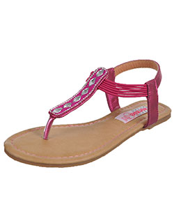 "Kensie Girls' ""Savannah"" Sandals (Youth Sizes 13 – 4) - CookiesKids.com"