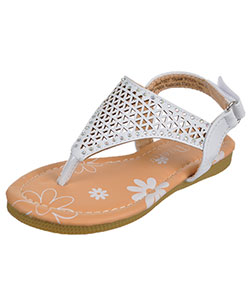 "Petalia Girls' ""Gem & Laser"" Sandals (Toddler Sizes 7 – 12) - CookiesKids.com"
