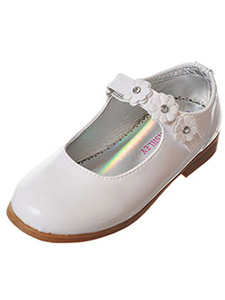 "Laura Ashley Girls' ""Carousel"" Mary Janes (Toddler Sizes 5 – 12) - CookiesKids.com"