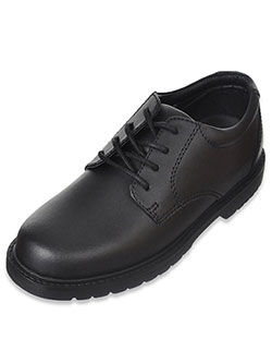 "Boys' ""Scholar"" Dress Shoes by Academie Gear in Black, School Uniforms"