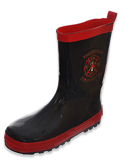 "Joseph Allen Boys' ""Rain Fighter"" Rain Boots (Youth Sizes 13 – 4) - CookiesKids.com"