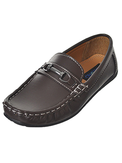 "Josmo Boys' ""Clutch"" Driving Loafers (Youth Sizes 13 – 5) - CookiesKids.com"