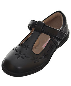 "Laura Ashley Girls' ""Flower Beds"" Mary Janes (Youth Sizes 13 – 3) - CookiesKids.com"
