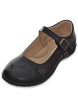 "Laura Ashley Girls' ""Flower Solo"" Mary Janes (Youth Sizes 13 – 7) - CookiesKids.com"