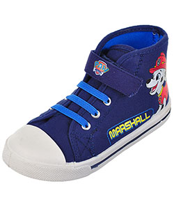 "Paw Patrol Boys' ""Just Chase"" Hi-Top Sneakers (Toddler Sizes 7 – 12) - CookiesKids.com"