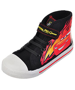 "Disney Cars Boys' ""Lightning Finish"" Hi-Top Sneakers (Toddler Sizes 7 – 12) - CookiesKids.com"
