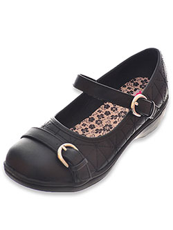 "Josmo Girls' ""Lattice Stitch"" Wedge Shoes (Youth Sizes 13 – 3) - CookiesKids.com"