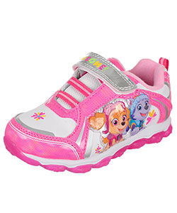 Paw Patrol Girls' Light-Up Sneakers (Toddler Sizes 7 – 12) - CookiesKids.com