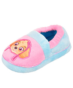 Paw Patrol Girls' Plush Slippers (Toddler Sizes 7 - 12) - CookiesKids.com