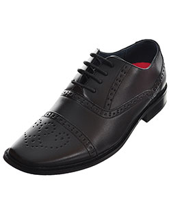 Joseph Allen Boys' Worsted Dress Shoes (Youth Sizes 5 – 8) - CookiesKids.com