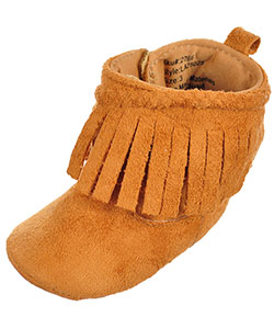 Laura Ashley Baby Girls' Moccasin Booties - CookiesKids.com