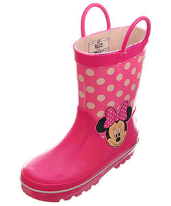 Disney Minnie Mouse Girls' Rain Boots (Toddler Sizes 7 – 10) - CookiesKids.com