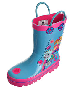 Paw Patrol Girls' Rain Boots (Toddler Sizes 7 – 12) - CookiesKids.com