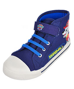 Paw Patrol Boys' Hi-Top Sneakers (Sizes 7 – 12) - CookiesKids.com