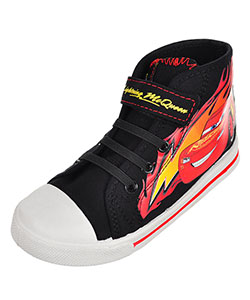 Disney Cars Boys' Hi-Top Sneakers (Sizes 7 – 12) - CookiesKids.com