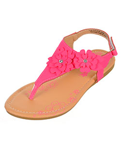 Petalia Girls' Sandals (Sizes 13 – 4) - CookiesKids.com