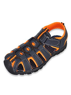 Boys' Sport Sandals by Rugged Bear in Black/gray