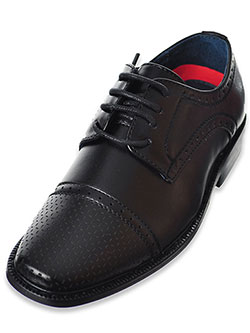 Boys' Dress Shoes by Joseph Allen in black and tan