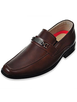 Boys' Loafers by Joseph Allen in brown, tan and white