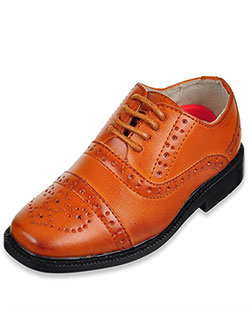Boys' Dress Shoes by Joseph Allen in Tan