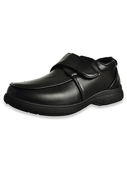 "Boys' ""Donald"" Hook-and-Loop School Shoes by Josmo in Black"