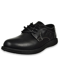Joseph Allen Boys' Perforated Lace-Up School Shoes by Jospeh Allen in Black