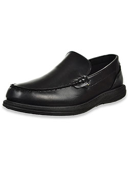 Boys' Slip-On Loafers by Joseph Allen in Black, School Uniforms