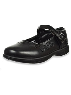 Girls' Mary Jane Shoes by Petalia in Black
