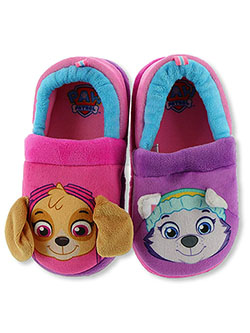 Girls' Skye & Everest Slippers by Paw Patrol in Pink/purple - Sandals