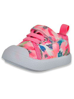 Glittery Flora Sneakers by Beverly Hills Polo Club in Pink