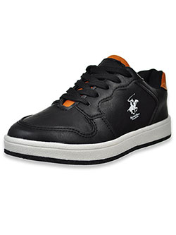 Boys' Classic Sneakers by Beverly Hills Polo Club in black and white