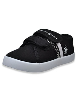 Canvas Sneakers by Beverly Hills Polo Club in Black