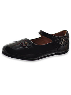 Patent Leather Mary Jane Dress Shoes by Laura Ashley in Black - Dress Shoes