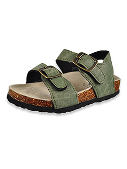 Boys' Sandals by Beverly Hills Polo Club in Olive