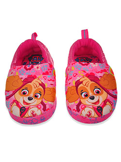 Skye Glitter Slippers by Nickelodeon Paw Patrol in Pink, Shoes