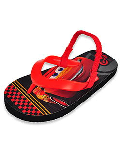 Boys' Flip Flop Sandals by Disney Cars in Black/red, Shoes