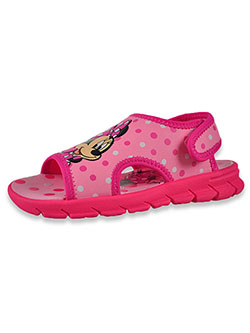 Girls' Polka Dot Sandals by Disney Minnie Mouse in Pink