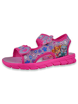 Girls' Double Strap Sandals by Nickelodeon Paw Patrol in Fuchsia