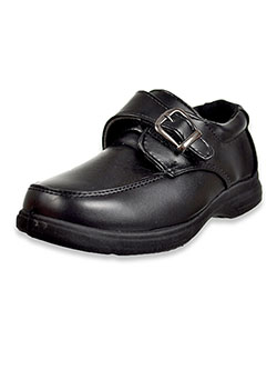 Boys' Buckle Accent School Shoes by Josmo in Black
