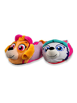 Girls' Multi-Character Slippers by Paw Patrol in Multi, Shoes