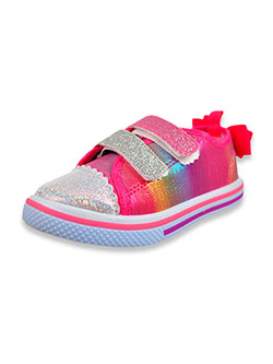 Girls' Bow Back Strap Low-Top Sneakers by Josmo in Multi