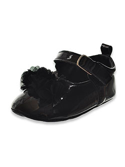 Girls' Tulle Accent Mary Jane Booties by Josmo in Black