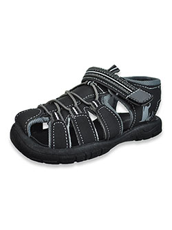 Boys' Sport Sandals by Rugged Bear in black/gray and black/red