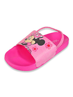Girls' Flip Flops by Disney Minnie Mouse in Pink