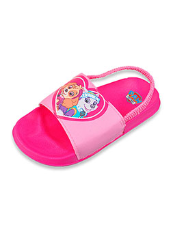 Girls' Slide Sandals by Paw Patrol in Pink, Toddler